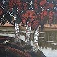 Vyatskiy forest series. Birchs