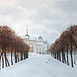 Kuskovo. The Alley