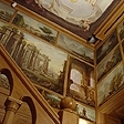 Оформление стен картинами в стиле старых мастеров