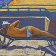 На пляже в Анцио N2