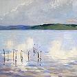 Озеро. Этюд