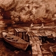 Переславль. Лодки