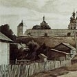 Pereslavl. A view of the monastery