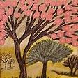 Пейзаж Розовое дерево
