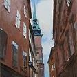 Улочка в Стокгольме